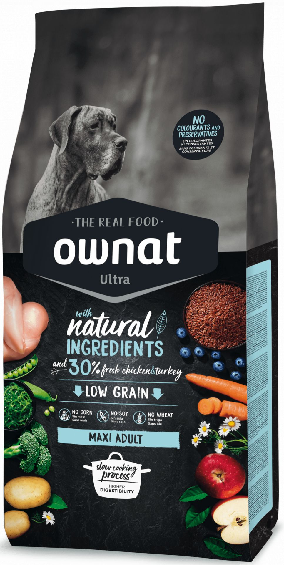 Ownat Ultra Low Grain Adult Maxi para Perro