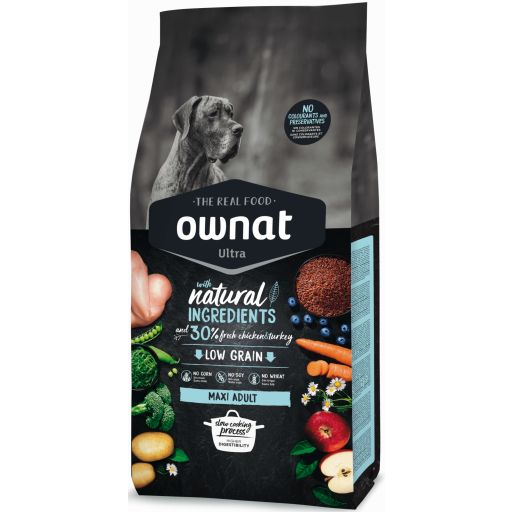 Ownat Ultra Low Grain Adult Maxi para Perro