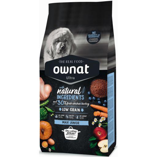 Ownat Ultra Low Grain Maxi Junior para Perro