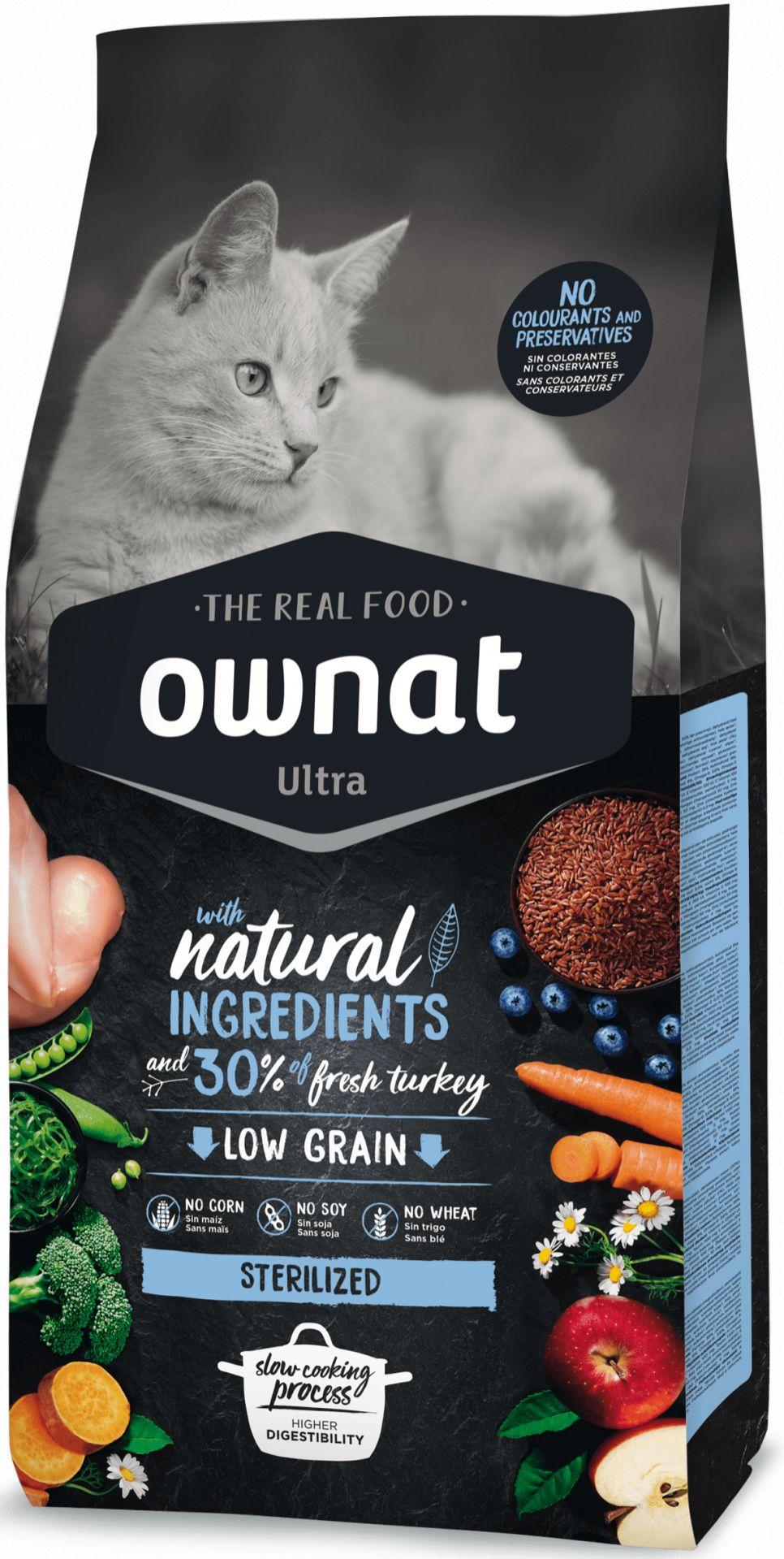 Ownat Ultra Low Grain Sterilized para Gato