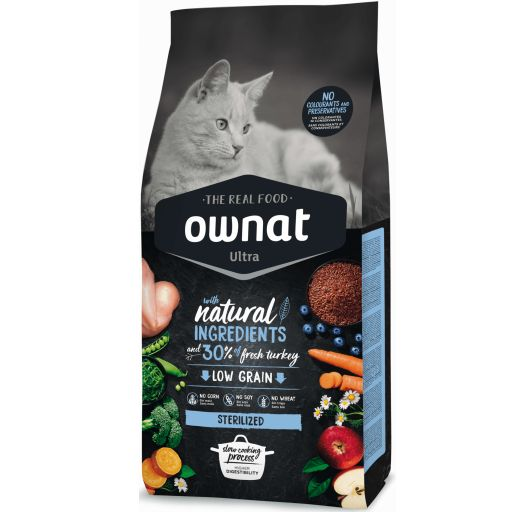 Ownat Ultra Low Grain Sterilized para Gato