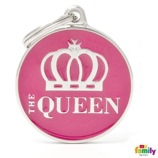 Placa Círculo Grande The Queen