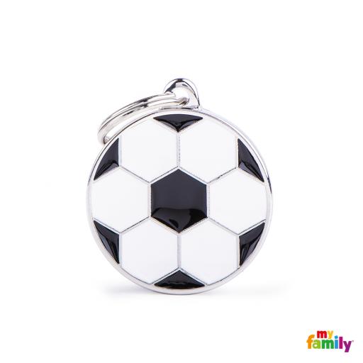 Placa Círculo Mediano Fútbol