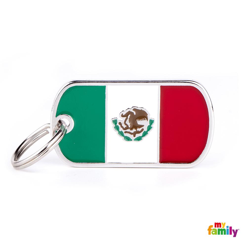 Placa Bandera de México