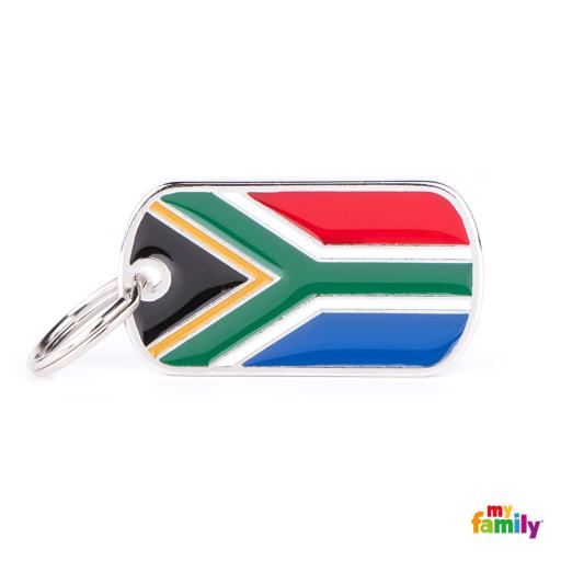 Placa Bandera de Sudáfrica
