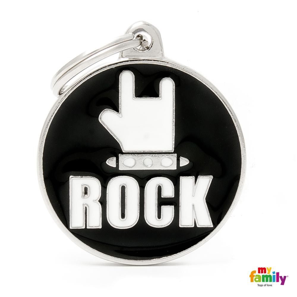 Placa Círculo Grande Rock