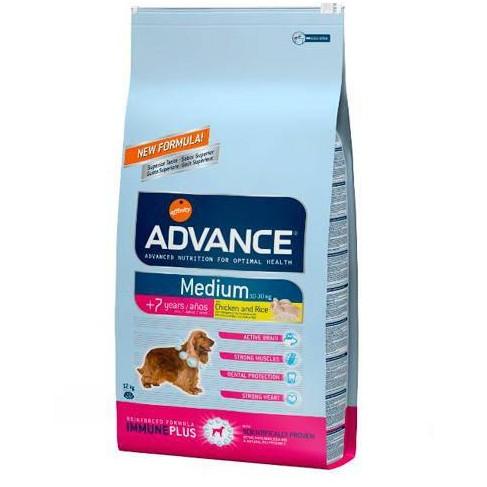 Advance Medium Senior +7 años para Perro