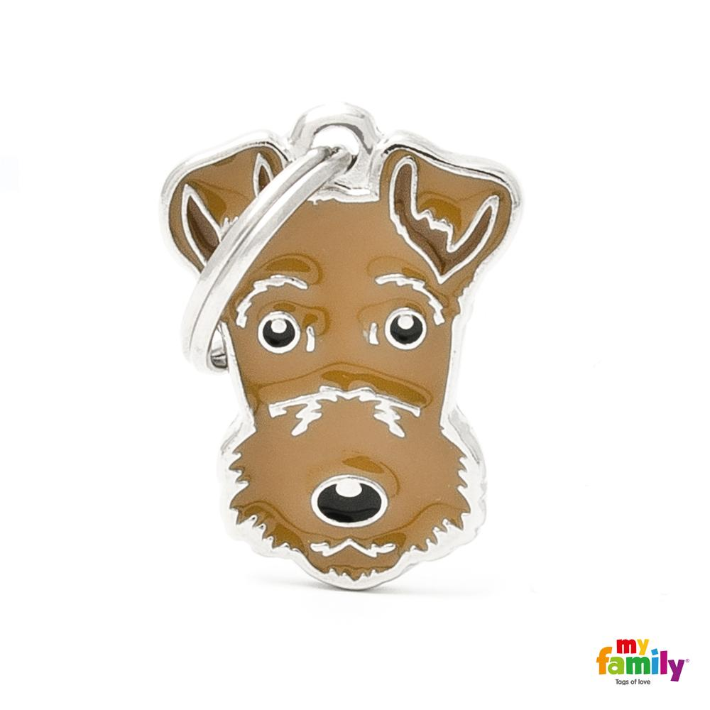 Placa Airedale Terrier