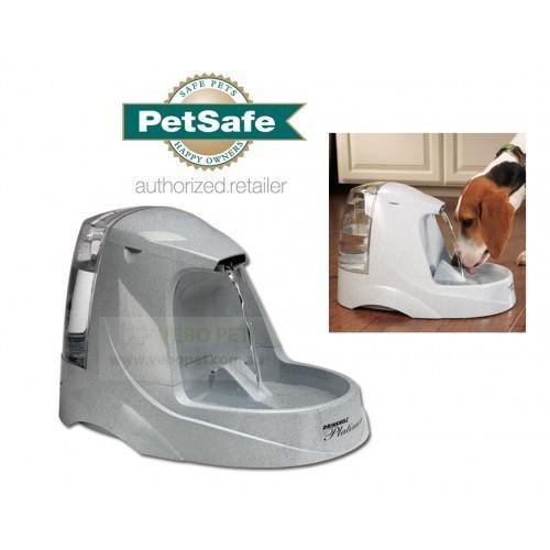 Bebedero PetSafe Drinkwell-Platino