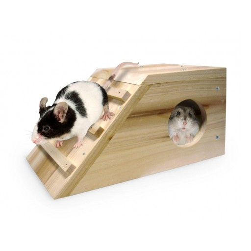 Casa de Madera para Hamster