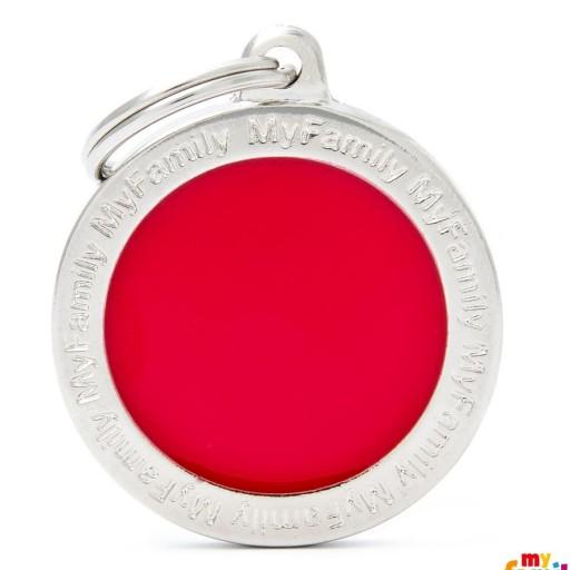 Círculo Grande Rojo