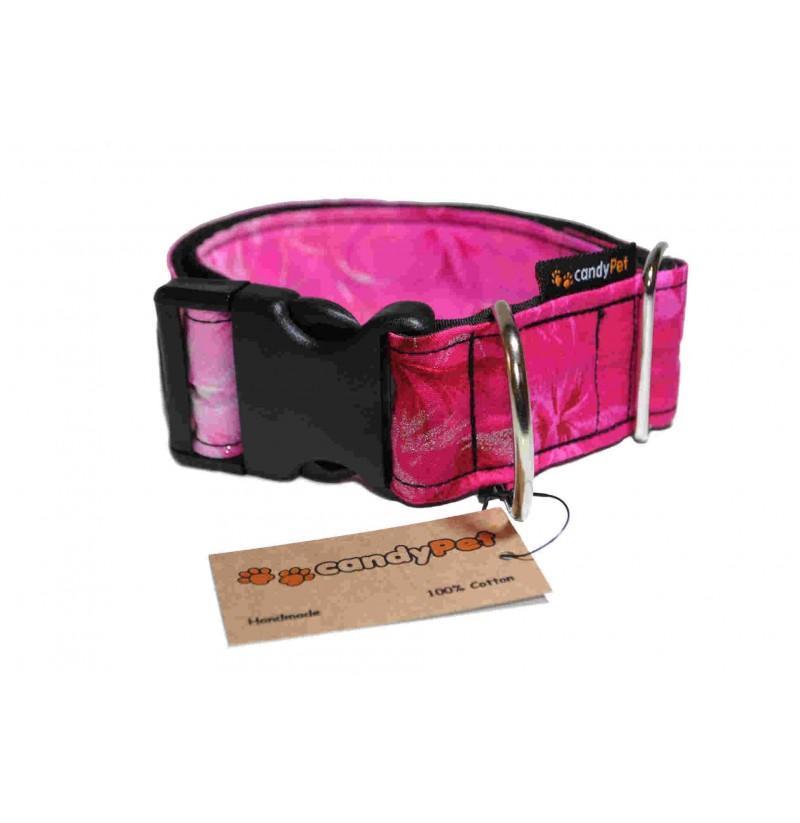 Collar con Click Modelo Rosas