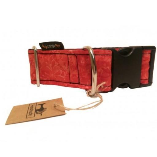 Collar con Click Modelo Batik Rojo