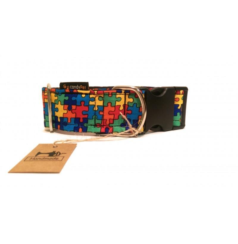 Collar con Click Modelo Puzzle