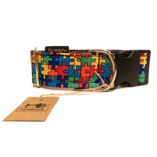 Collar con Click Modelo Puzzle [0]