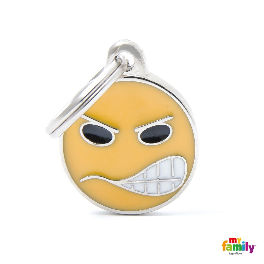 Placa Emoticon Angry