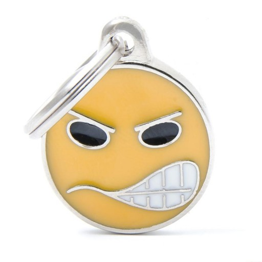 Placa Emoticon Angry [0]