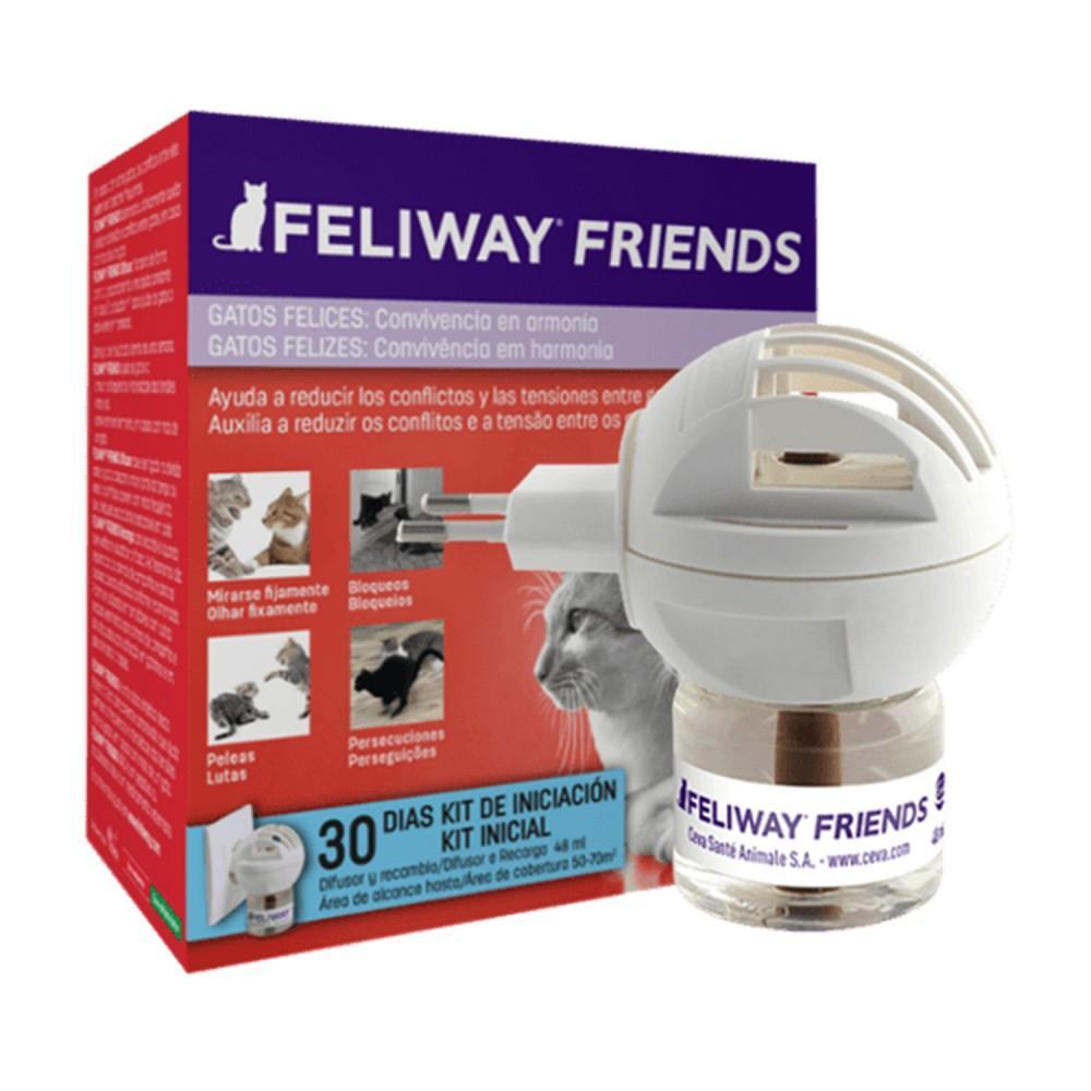 Feliway Friends Difusor + Recambio 48ml