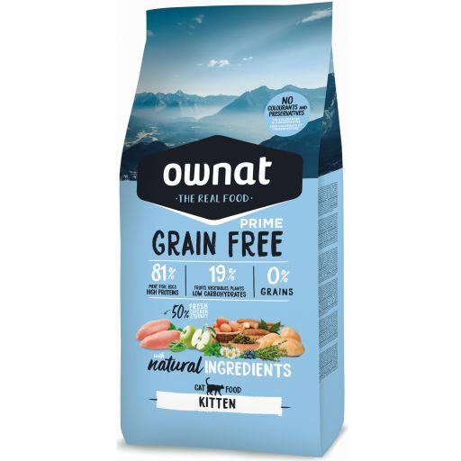 Ownat Grain Free Prime Kitten Gato