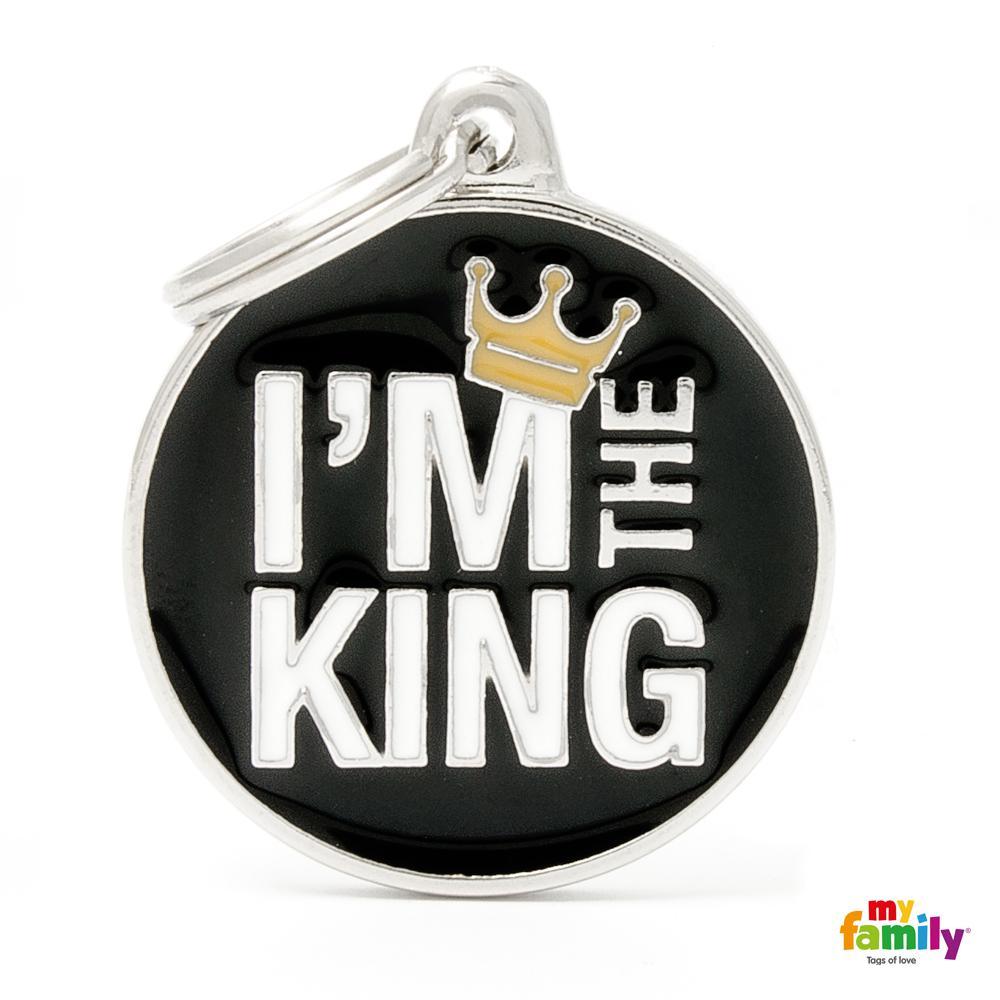 Placa Grande I´m The King