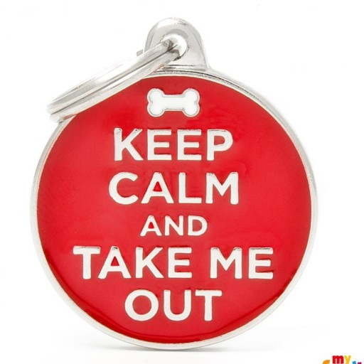 Placa Keep Calm And Take My Out [0]
