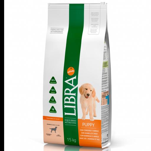Libra Puppy con Cordero