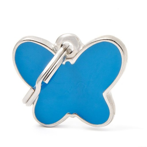 Placa Mariposa Azul