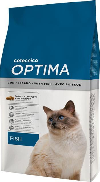 Cotécnica Optima Pescado para Gato