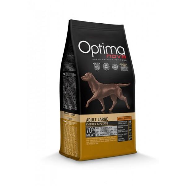 OptimaNova Adult Large Pollo y Patata Grain Free (Visan)