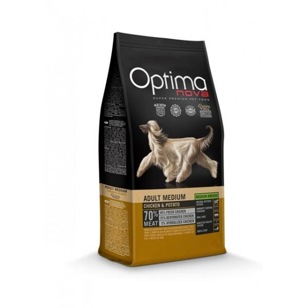 OptimaNova Adult Medium Pollo y Patata Grain Free (Visan)