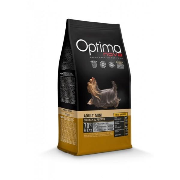 OptimaNova Adult Mini Pollo y Patata Grain Free (Visan)