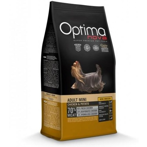 OptimaNova Adult Mini Pollo y Patata Grain Free (Visan)