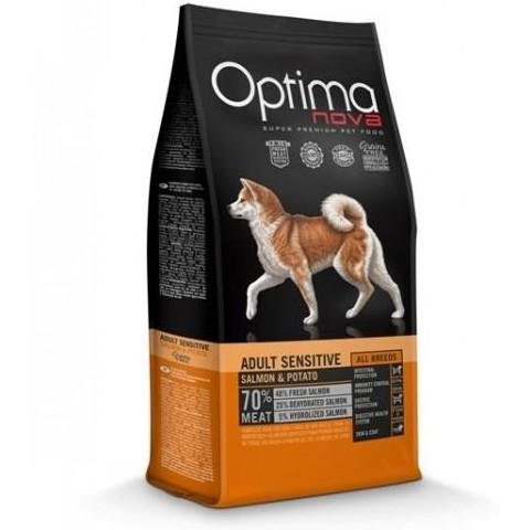 OptimaNova  Sensitive Adult Salmón y Patata Grain Free (Visan)