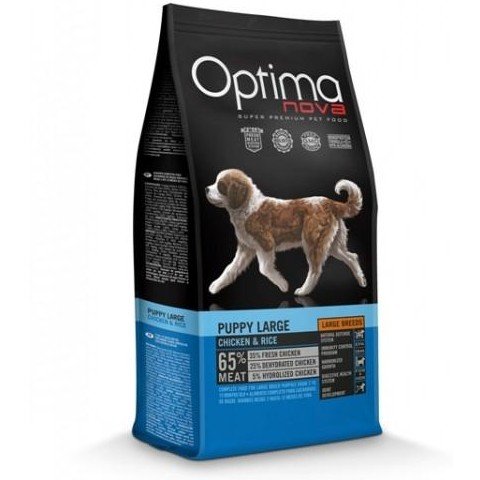 OptimaNova Puppy Large Pollo y Arroz (Visan)
