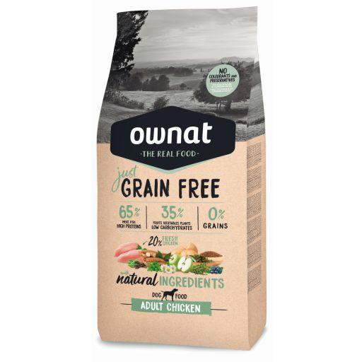 Ownat Just Grain Free Adult Pollo para Perro