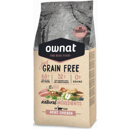 Ownat Just Grain Free Adult Pollo Fresco para Gato