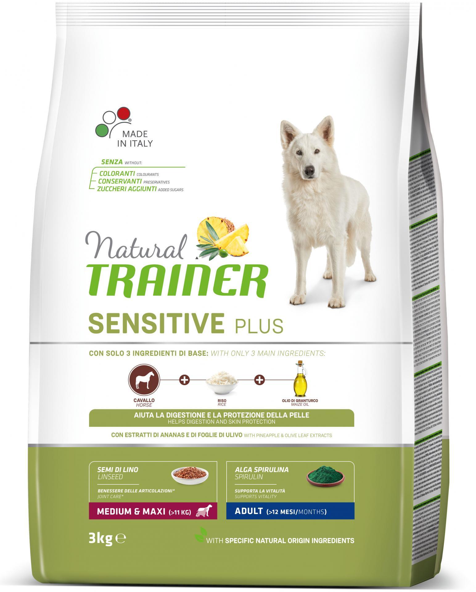 Trainer Sensitive Plus Caballo Adult Medium Maxi