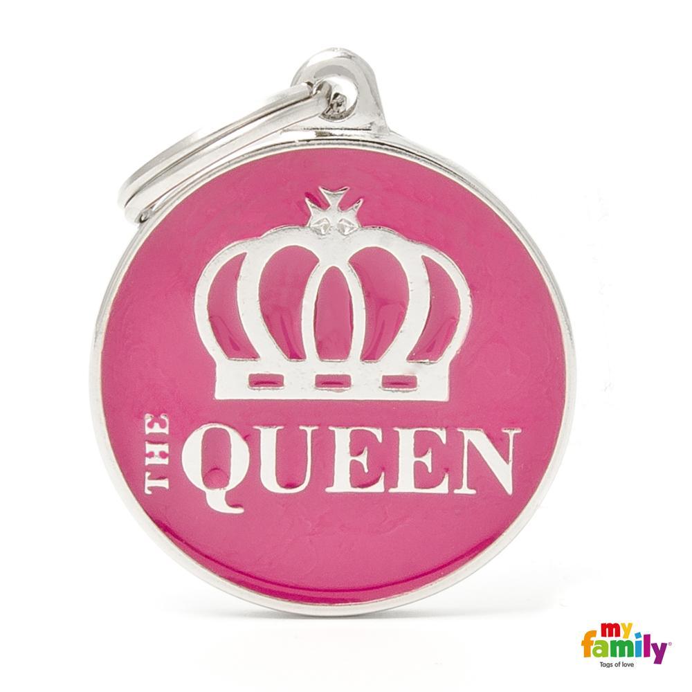Placa Mediana The Queen