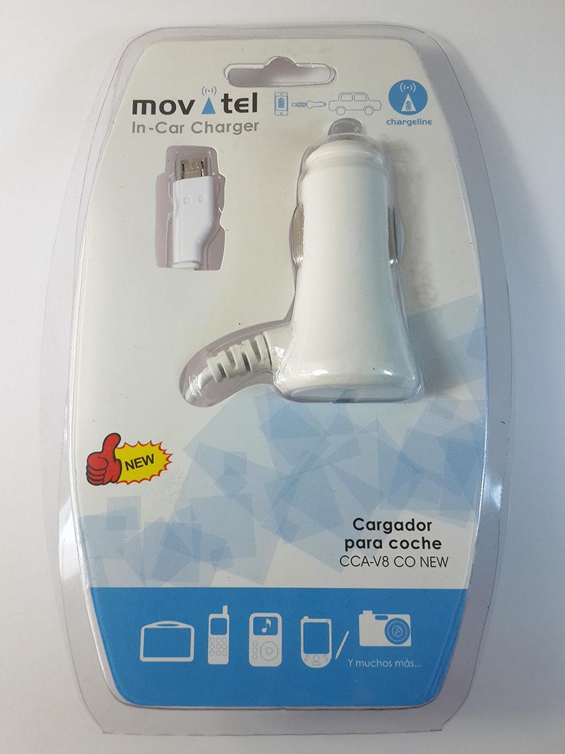 Cargador de Coche Rápido Micro USB