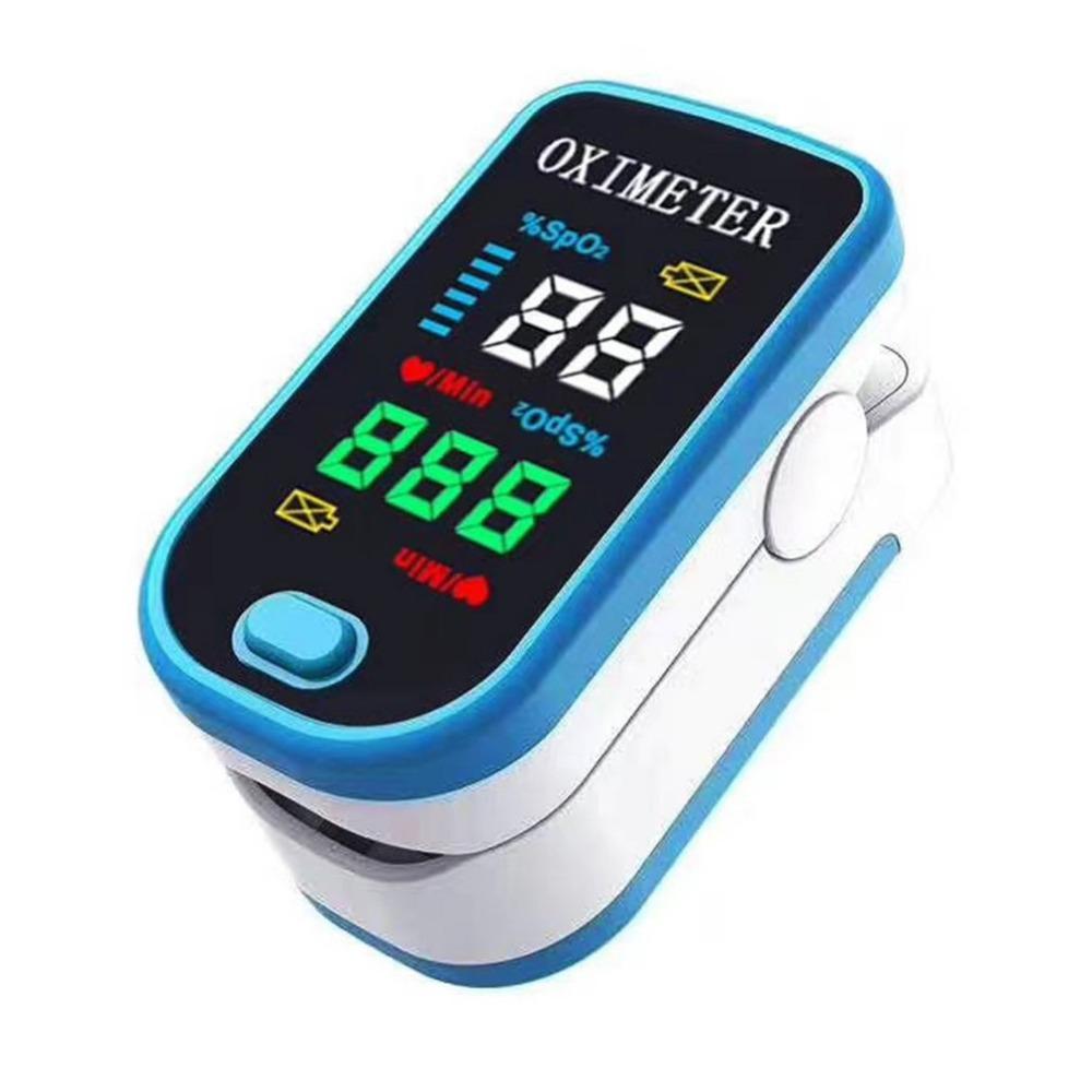 Oximetro Y Pulsómetro De Dedo - Frecuencia Cardíaca Led Oxígeno