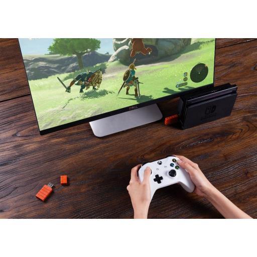 Adaptador 8BitDo Receptor USB Windows, Nintendo, PS4, Xbox, Mac [3]