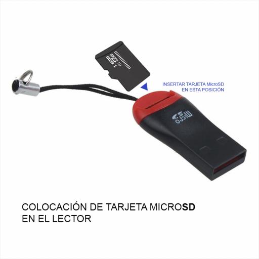 Adaptador Tarjeta Micro SD Para USB Lector De Microsd A Usb [1]