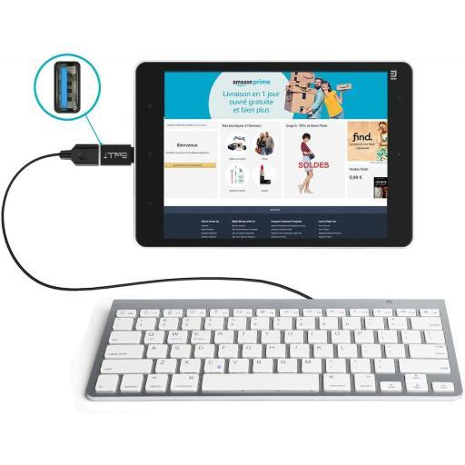 Adaptador USB a tipo C - OTG   Samsung   Huawei   LG   y otros [2]
