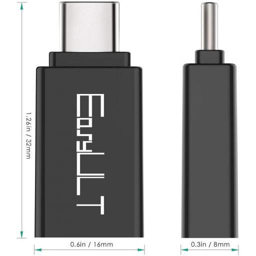 Adaptador USB a tipo C - OTG | Samsung | Huawei | LG | y otros