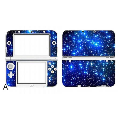 Adhesivo Skin para Nintendo New 3DS XL Galaxy Galaxia N3DS