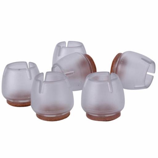 Almohadillas para Silla de Silicona Tapones - 16 Piezas [1]