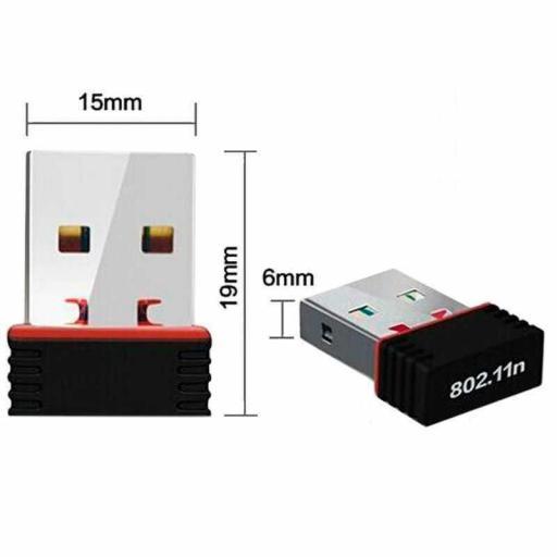 Antena Wifi lan mini USB 300mbps wireless   300 mbps [1]