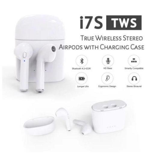 Auriculares Bluetooth inalámbricos Tipo AirPods con Base de Carga [2]