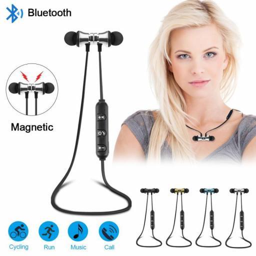 Auriculares internos Inalámbricos deportivos con Micrófono [2]