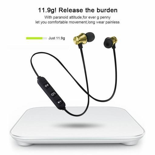 Auriculares internos Inalámbricos deportivos con Micrófono [3]
